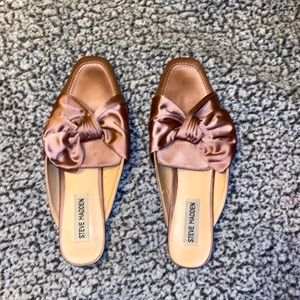 steve madden purple flats with bow